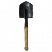 Лопата сапёрная