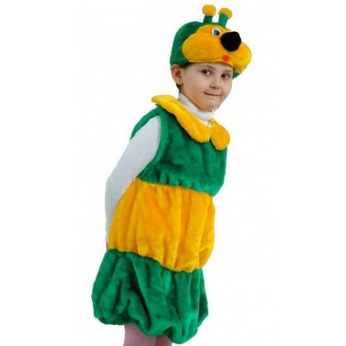 Костюм гусеницы своими руками для мальчика