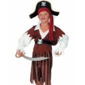 Костюм Пирата в черной шляпе