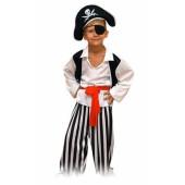Костюм Пирата в черной шляпе2