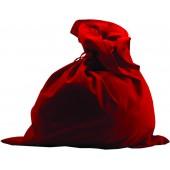 Мешок красный бархат