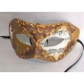 Карнавальная маска из пластика