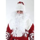 Новогодние парики, бороды Деда Мороза, косы Снегурочки