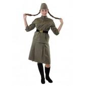 Женский военный комплект