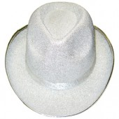 Белая шляпа диско