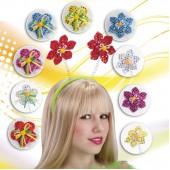 """Ободок """"Цветочки"""" с пайетками цвета и модели в ассортименте"""