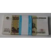 Пачка банка приколов 100 рублей