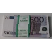 Пачка банка приколов 500 евро