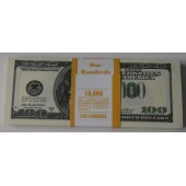 Пачка банка приколов 100 долларов