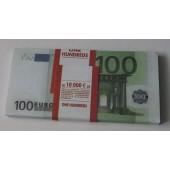 Пачка банка приколов 100 евро