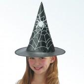 Шляпа Ведьмы детская высота 35 см.