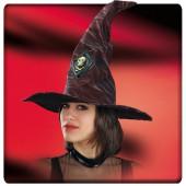 Шляпа Ведьмы коричневая высота 45 см.