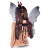 Набор Дьяволицы (крылья 65 х 66 см и рога)