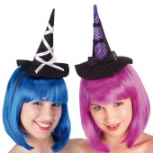 Мини-шляпка Ведьмы на ободке