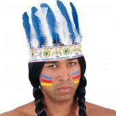 Диадема индейская цвета в ассортименте